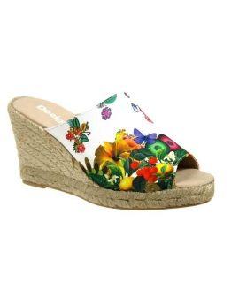Chaussures Desigual mule compensée Tarifa 3