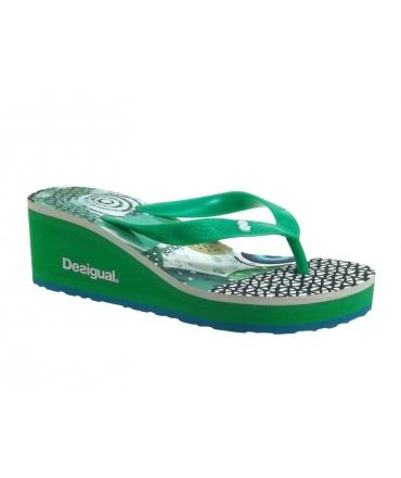Chaussures Desigual tongs compensées Lola