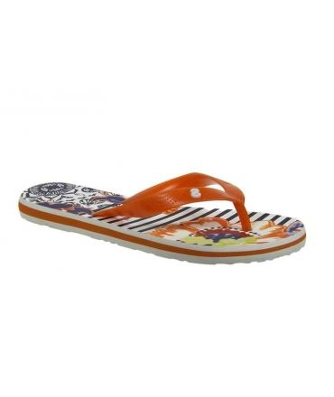 Chaussures femmes DESIGUAL, tongs Flip Flop 3 orange