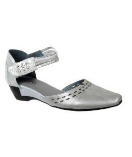 Chaussures Francesco Rossi, sandale Fugitive Seal métal gris