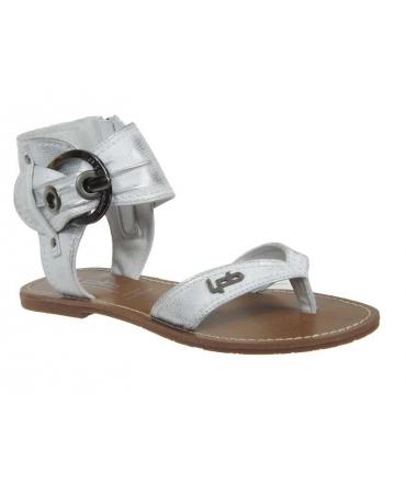 Les P'tites Bombes sandales 1-Thalie argent, nouveauté LPB Shoes