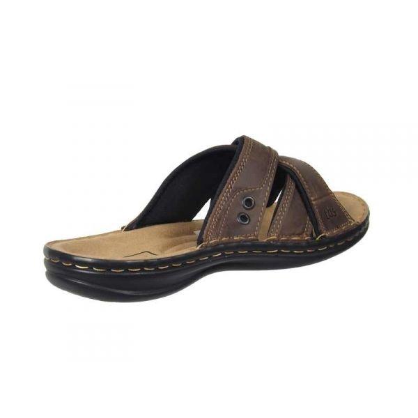 ventes tbs benaix mules confort pour homme sandale cuir marron de qualit. Black Bedroom Furniture Sets. Home Design Ideas