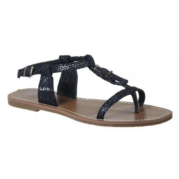 achats chaussures les p 39 tites bombes sandales zho serpent noir. Black Bedroom Furniture Sets. Home Design Ideas