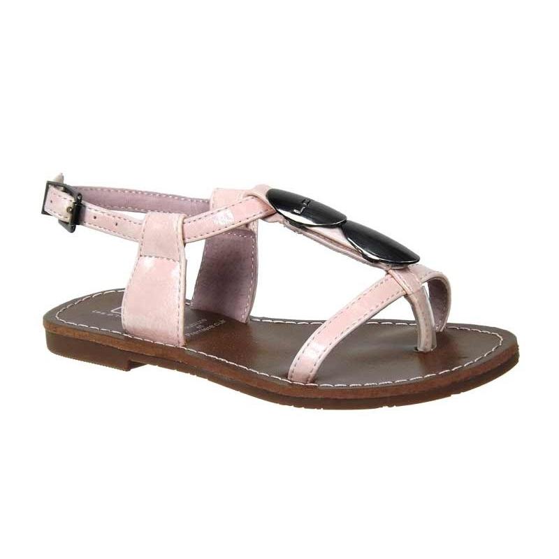 Ventes sandales filles LPB Shoes J Lucinda rose, Les Petites
