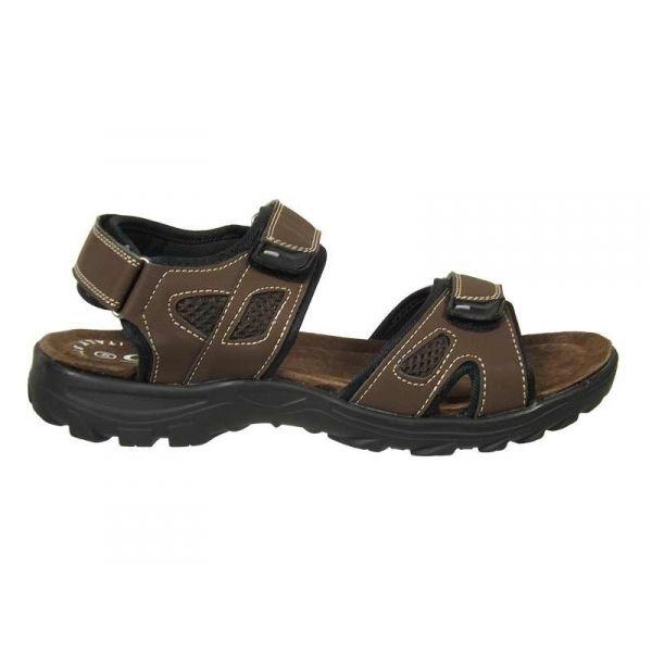 ventes sandales routards pour homme ajustables avec trois scratchs. Black Bedroom Furniture Sets. Home Design Ideas