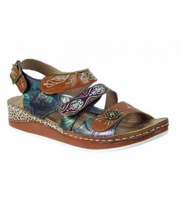 Nouveauté sandales Laura Vita Bruel 06 beige