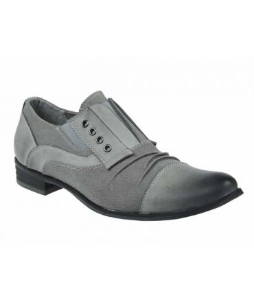 Kdopa Lima Gris, chaussures mode confortable homme