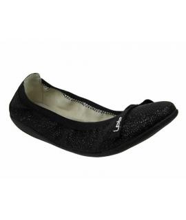 Ballerines LPB Shoes Ella Paillettes noir, nouveauté LPB Shoes