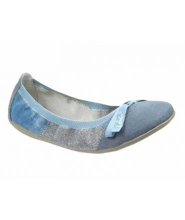 Ballerines Acajou jeans paillettes Les Petites bombes, LPB Shoes
