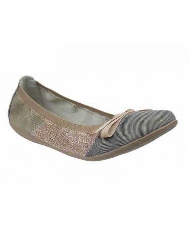 Les P'tites Bombes ballerines Acajou taupe , nouveauté LPB Shoes