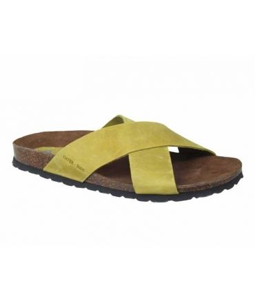 Mules confort Inter Bios 7193-pistacho