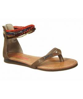 Nu pieds Les tropéziennes par M Belarbi Ginkgo tan