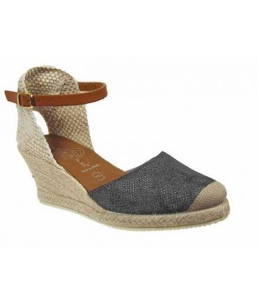 Sandales cordes Kedzaro Antony-Noir