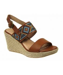 Sandale cordes Chattawak Helena choco