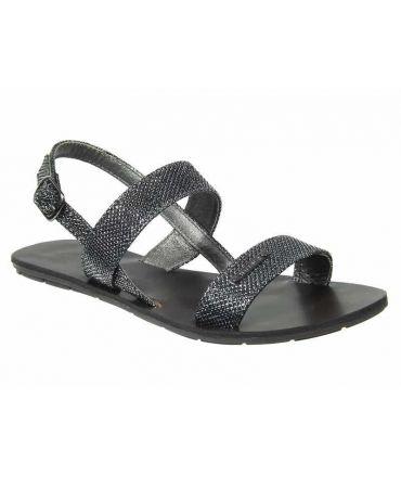 Sandale paillettes Chattawak Nadine gris