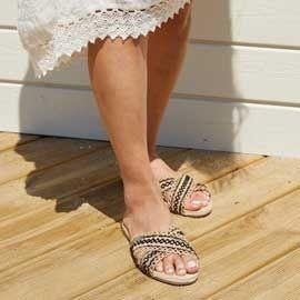 28f2bc415d2 Vente en ligne grande sélection tongs   nu-pieds chaussures femmes d été